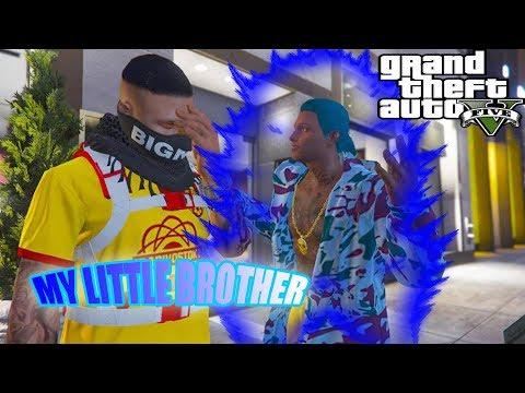 GTA 5 NO SCHOOL BOYS #12 MY  LITTLE BROTHER