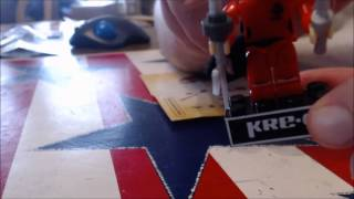 Chuck Builds GI Joe Kreo Kim Arashikage And Kamakura