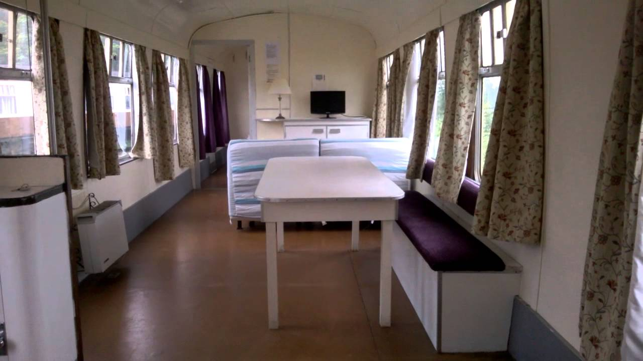 Our Converted Railway Carriage At Dawlish Devon May 2014