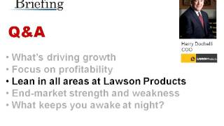 Interview: Lawson Products COO Harry Dochelli