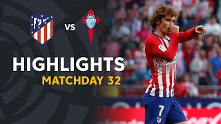 Highlights Atletico de Madrid vs RC Celta (2-0)