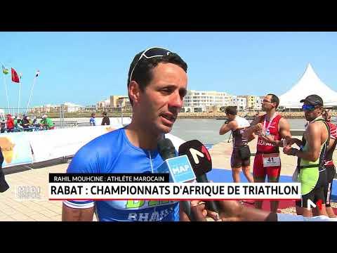 Rabat: championnats d'Afrique du triathlon