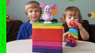 ЛУНТИК с сюрпризами. Все подарки с КАКАШКАМИ Приколы с детьми Детские игрушки и видео для детей