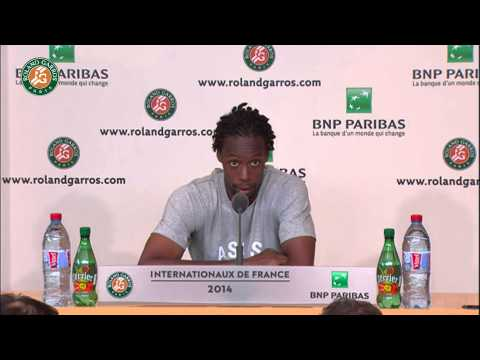 Roland Garros 2014 Tuesday Interview Monfils