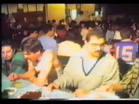 Navasartian Games 1989: Part 3 Dinner at HMEM Nubar Cairo