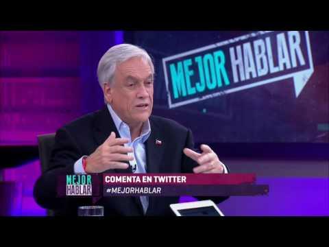 Sebastián Piñera en Mejor Hablar - Domingo 2 de julio