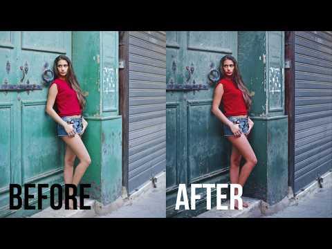 Cinematic Portrait Color Grading | Photoshop Tutorial thumbnail