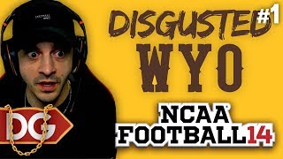 NCAA DYNASTY REBUILD - ABSOLUTELY DISGUSTED - #1