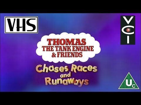 Engine amp; Friends: Chases, Races, and Runaways UK VHS 1997  YouTube