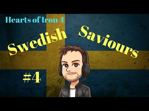 Hearts of Iron 4   Swedish Saviours   Part 4   Norwegian Friends