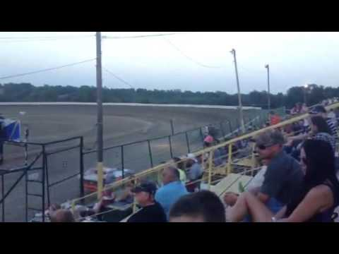 Casey Capps Heat Race 7-2-16 Grayson County Speedway