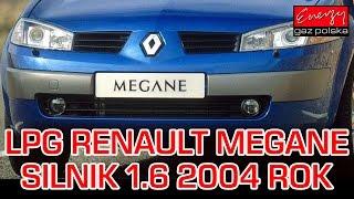 Montaż LPG do Renault Megane 1.6 2004r - instalacja gazowa Lovato Smart