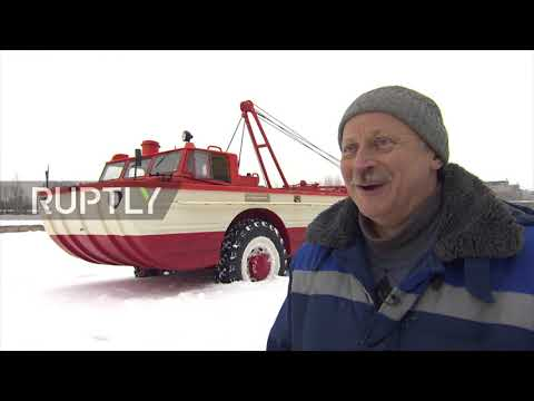 Soviet-era cosmonaut rescue vehicle lovingly restored to former glory