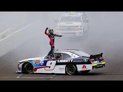 Hendrick, Byron talk move to Cup Series in 2018