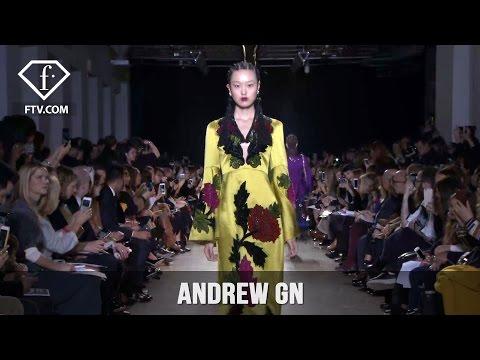 Paris Fashion Week Fall/Winter 2017-18 - Andrew GN | FashionTV