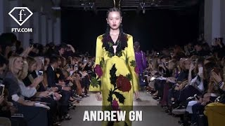 Paris Fashion Week Fall/Winter 2017-18 - Andrew GN | FTV.com