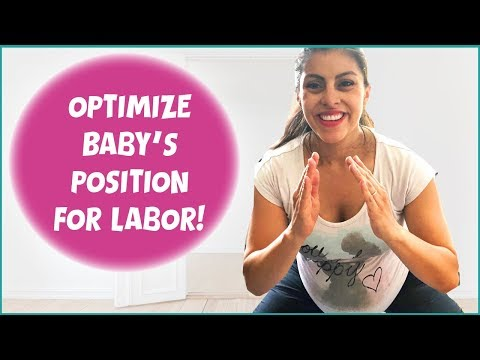 Gentle Prenatal Workout | Workout with Me: Third Trimester Fetal Positioning Workout