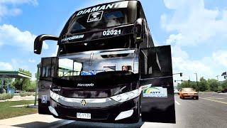 Mod Bus : Marcopolo Paradiso G7 1800 DD Volvo 6x2 - by Busologames : Edição, Sound, Animações/Canal Ródha Games : Skins Brasileiras. Para ATS e ETS2 1.39,...1.40,... Link Bus : http://www.mediafire.com/file/9l1rjs8l54yntgp/MARCOPOLO+G7+PARADISO+1800+DD+VOLVO+GCFP.rar/file Link Skins Brasileiras : https://sharemods.com/eb0k83ixx2v2/Skins_Brasileiras_G7_1800DD_Volvo_6x2_ATS_ETS2_1.40.rar.html Mapa : Original SCS. Game : American Truck Simulator - v.1.40.1.0 Update.