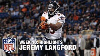 Jeremy Langford Highlights (Week 10) | Bears vs. Rams | NFL
