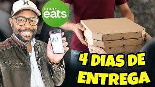 12 HORAS FAZENDO ENTREGAS PELA UBER EATS EM LOS ANGELES NA CALIFÓRNIA EUA