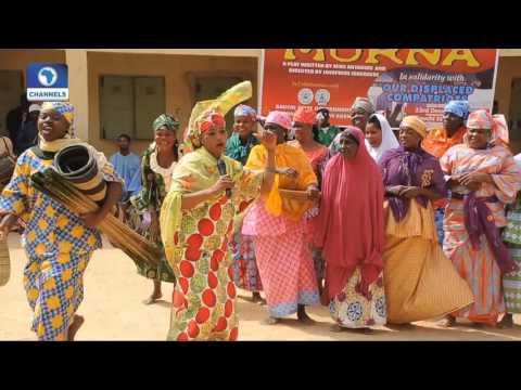 Art House: National Troupe Renders Dance Drama In IDP Camp In Bauchi