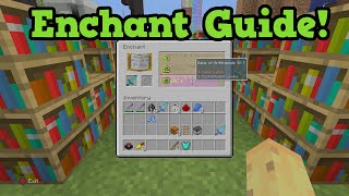 Minecraft Xbox 360 / PS3 1.8.8  NEW Enchanting Guide