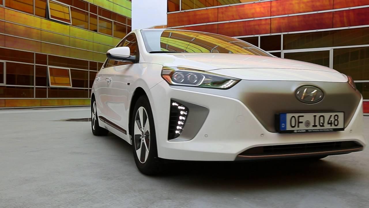 Hyundai ioniq lectrique vid o de pr sentation