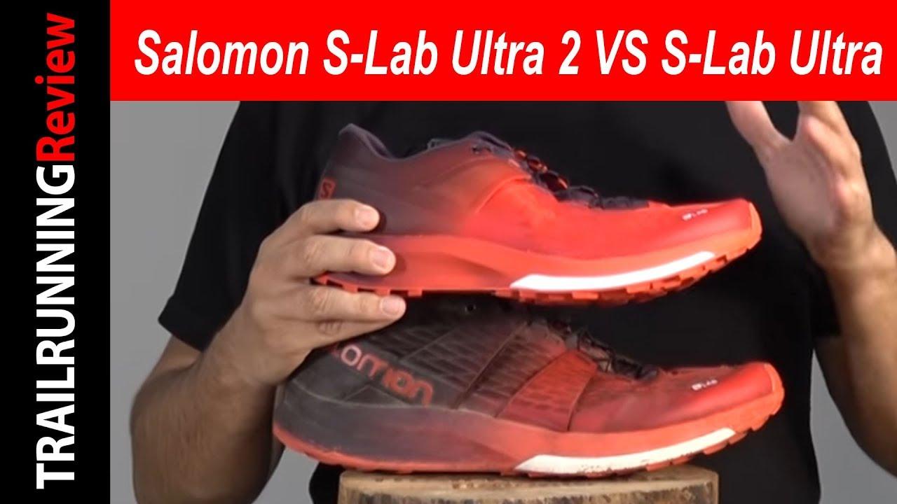 Salomon S Lab Ultra 2 VS Salomon S Lab Ultra
