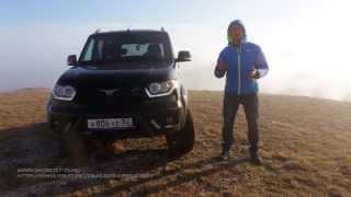 УАЗ Патриот 2015 Тест-драйв Игорь Бурцев.
