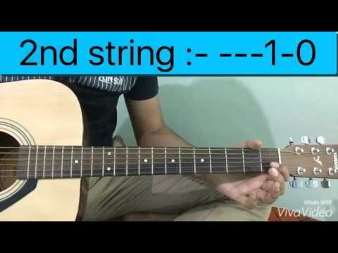 happy birthday easy guitar tutorial how to play on three strings youtube. Black Bedroom Furniture Sets. Home Design Ideas