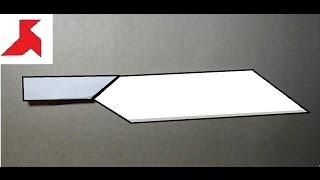 Как сделать оригами нож из бумаги А4?(Инструкция о том, как сделать быстро оригами нож своими руками из всего одного листа бумаги формата А4. ..., 2016-11-16T14:13:39.000Z)