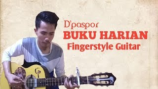 D'paspor - BUKU HARIAN | Fingerstyle Guitar | Cover by Codes PRO