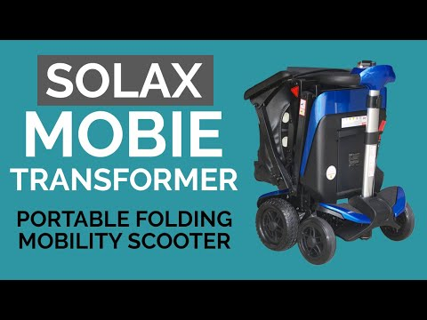 Solax Mobie Transformer Folding Portable Mobility Scooter