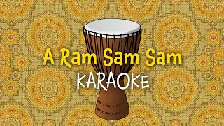 A Ram Sam Sam (instrumental - lyrics video for karaoke)