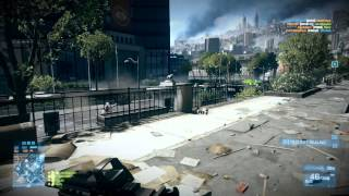 BF3 multi crack zlo AEVN conquest Gameplay (Map metro)