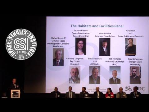 SSI 50: 01 Space Habitat Design Panel Part 1