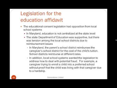 Webinar: Educational and Medical Consent Laws (Northeast Region)