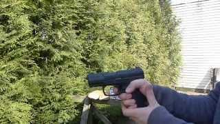 Pistolet WALTHER CP99 Compact - test wiatrówki cz. 2