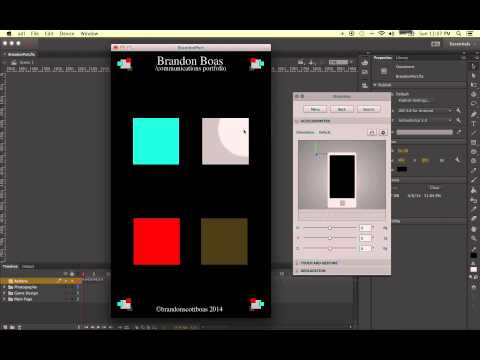 Adobe Flash CC: Intro to Making An Application in Flash