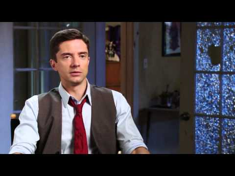 American Ultra: Topher Grace Behind the Scenes Movie Interview