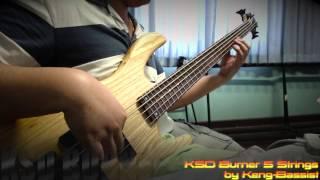 KSD Burner 5 Strings by Keng Bassist