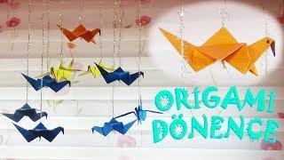 Origami Dönence | Diy Origami Baby Mobile