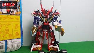 Robot siêu nhân hải tặc lắp ráp - megazord Kaizoku Sentai Gokaiger Gokaioh toy for childrens