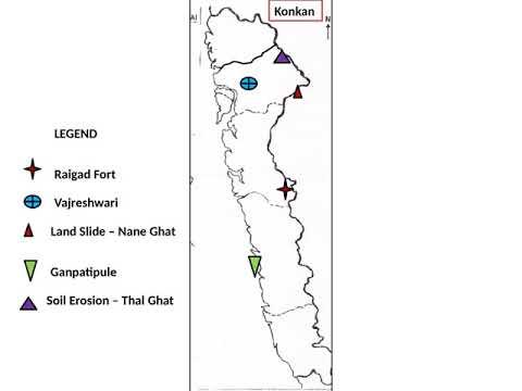 FYBCOM SEM II Mumbai & Konkan Map