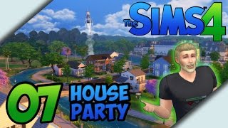 The Sims 4 - Let's Play Gameplay // Part 07 - House Party