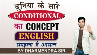 Conditional Sentences used in Spoken English and Exams // The Real Concept of Conditional Sentences