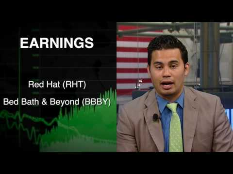06/22: Stock futures flat ahead of housing data, Asia sees mixed trade and SP500 in focus