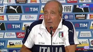 SPAGNA vs ITALIA 2 SET2017: Dichiarazioni di #Ventura dalla conferenza stampa