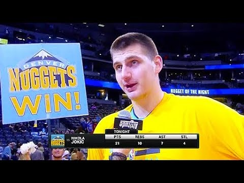 """Nikola Jokic Fined $25,000 For Saying """"No Homo"""" in Post Game Interview"""