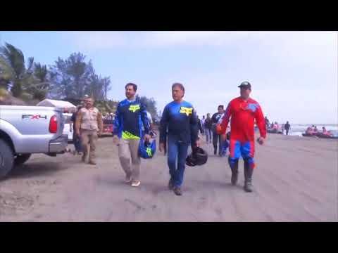 """""""Las dunas móviles de Chachalacas son un maravilla natural en Veracruz"""": Yunes Linares"""